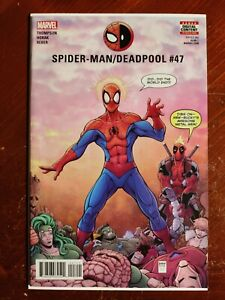 Marvel Comics Spider-Man / Deadpool #47 First Cameo Appearance Major X Key Comic