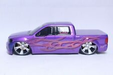 JL FULL THROTTLE RESIN HAND PAINTED 1/24 SCALE FORD TRUCK PURPLE PROTOTYPE