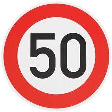 Verkehrszeichen Verkehrsschild Straßenschild 50
