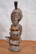 ARTE africana tribale, incredibili Songye Fetish Statua DAL SUD-Congo RDC
