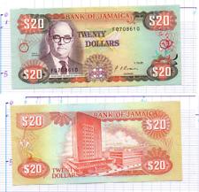 JAMAIQUE 20 DOLLARS 1991 ~ JAMAICA BANKNOTE BANCONOTA