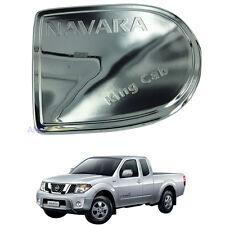 Fit Nissan Navara D40 Fuel cover cap lid Premium Chrome King cab Single cap