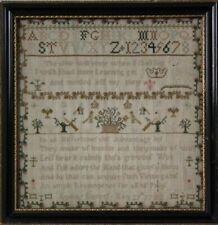 Antique Sampler, 1780, by Lydia Dawes