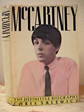 McCARTNEY THE DEFINITIVE BIOGRAPHY Salewicz 1986 HC/DJ 1st Edition Beatles Paul