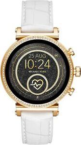 Michael Kors Access Sofie Rose Gold Heart Rate Touchscreen Smart Watch MKT5067
