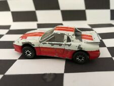 Matchbox 1987 MB2 Pontiac Fiero White/Red GT