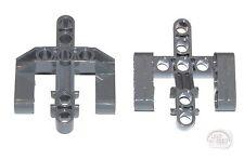 LEGO Technic - 2 x Perpendicular Fork Liftarm w/3 Fingers - DBG - New - (EV3)