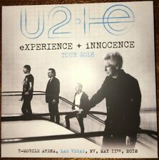 "U2 : ""eXPERIENCE + INNOCENCE Tour 2018 In Las Vegas "" (RARE 2 CD)"