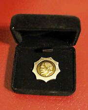 Gold Star of Lenin, in Presentation Box. Vladimir Lenin Propaganda Badge