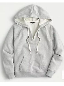 J.CREW ~ VINTAGE HOODED SWEATSHIRT ~ SMALL ~ NWT