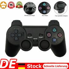 Wireless Doppelte Vibration Spiel Kontroller Gamepad Joystick für Sony PS2 NEU