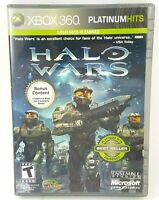 Halo Wars - Xbox 360 (Platinum Hits) Disk and Case, Tested Works