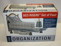 Bed Risers – Set of Four – in Original Box