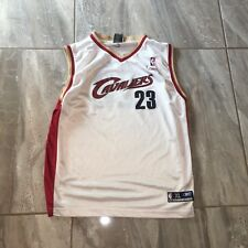 Cleveland Cavaliers LeBron James Jersey Youth XL Reebok