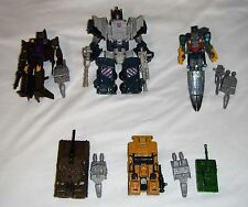 Transformers Combiner Wars Bruticus Combaticons Onslaught Swindle Brawl Vortex