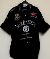 Jack Daniels short sleeve button black high quality shirt brand new