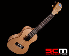 RRP$400! L QACS Lanikai Concert Ukulele Quilted Ash Uke Brand New with Warranty