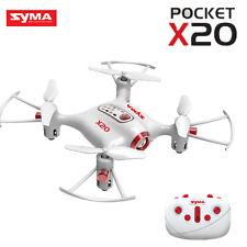 Syma X20 Pocket 2.4G 4CH RC Quadcopter Drone Headless Altitude Hold Mode White