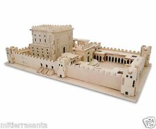 """3D Jigsaw Wooden Puzzle """"The Temple"""" 26x15x10 cm Israel Gift Judaica"""