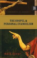 9Marks: The Gospel and Personal Evangelism 2 by Mark E. Dever (2007, Paperback)