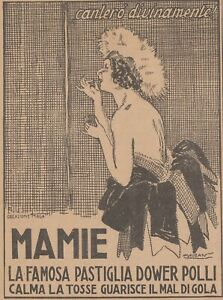 V2179 Mamie The Famous Pad Dower Chicken - Illustration - 1922 Advertising