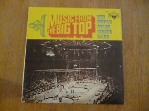 DISQUE VINYL 33 TOURS MUSIC FROM THE BIG TOP THE MERLE EVANS CIRCUS BAND