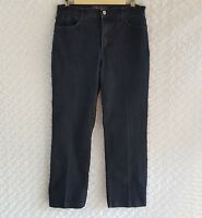 NYDJ Not Your Daughters Jeans Women's Size 8 Dark Blue Denim Stretch 28x28 High