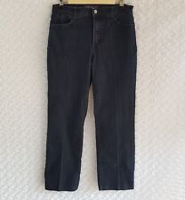 NYDJ Size 8 in Dark Blue Very Stretchy Jeans with Lift & Tuck Technology  MY-51