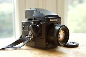 Mamiya 645 Super with AE Prism Finder and 80mm lens