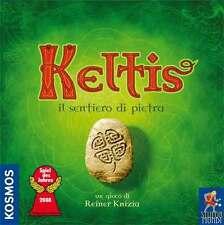 Keltis, il Sentiero di Pietra, Gioco da Tavolo Stupor Mundi, Nuovo, Italiano