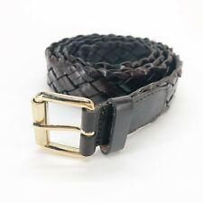 Cintura da Uomo in Pelle intrecciata Cinta POLLINI 115 cm.