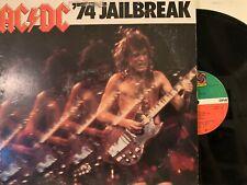 AC/DC – '74 Jailbreak EP 1984 Atlantic – 80178-1-Y w/Inner VG/VG+