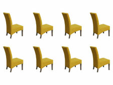 Chaises jaunes pour la maison salle à manger