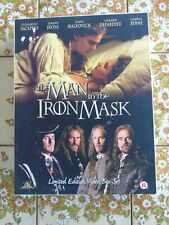 The Man in The Iron Mask Limited Edition Box Set With Leonardo DiCaprio Book
