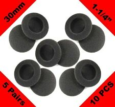 Brand New 5 Pairs Replacement 30mm Foam Ear Pad for Senheiser Koss Sony Philips