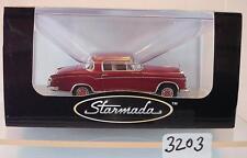 Brekina starmada 1/87 MERCEDES BENZ 220s Coupe w 180 II rouge rubis emballage d'origine #3203