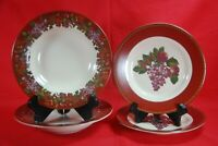 Certified International CORNUCOPIA Salad Plates 2 Soup Bowls 2 Raymond Waites