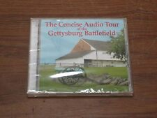 """""""The Concise Audio Tour of GETTYSBURG BATTLEFIELD"""" on 2 CD's, 2006"""