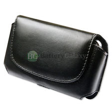 New Leather Pouch Belt Phone Case for Samsung Convoy 3/Denim/Gusto 3 200+Sold