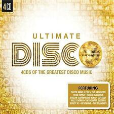 ULTIMATE DISCO VARIOUS ARTISTS 4 CD NEW