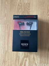ECOUTEURS INTRA-AURICULAIRES PREMIUM SONY XBA-NC85D NEUFS