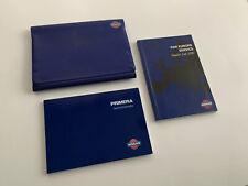 Nissan Primera Instructieboekje 1996 in het Nederlands