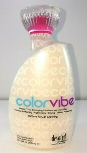 Devoted Creations Color Vibe Intensifier Skin Tightening Tanning Lotion 13.5oz