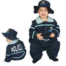 Dress up America Police Officer Baby Costume 0 - 9 Months