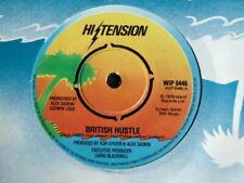 "HI-TENSION  ""British Hustle"" 7"" Vinyl  ISLAND  WIP 6446"