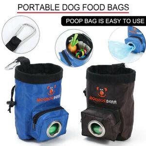 Portable Dog Cat Training Waist Pouch Bait Treat Snack Food Bag Storage Pocket