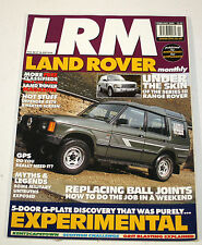 LRM Land Rover  Monthly - Feb 2002 - Series III Range rover