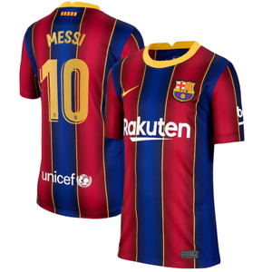Barcelona Kid's Football Shirt Nike Home Lionel Messi 10 Shirt  - New