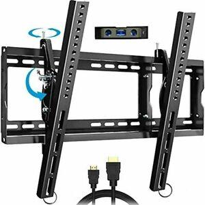 """EverstoneAdjustableTiltTVWallMountBracketforMost32-80"""" LCD PLASMA  Tv's"""