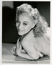 Legendary Burlesque Dancer Sally Rand Original 1946 Sultry Glamour Photograph